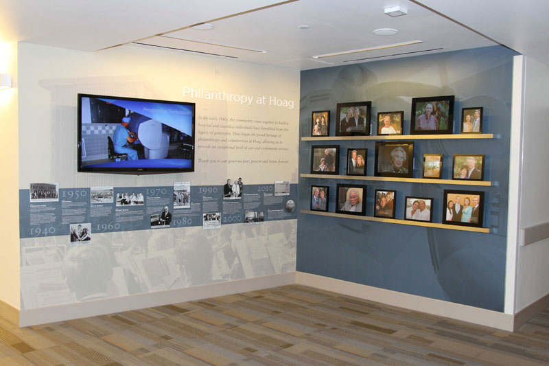Hoag Hospital Donor Recognition Wall